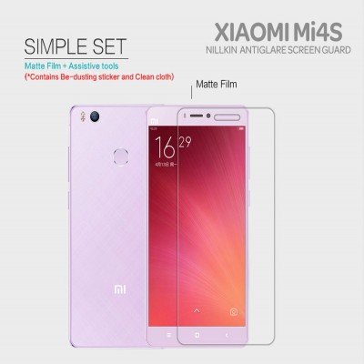 ^ Xiaomi Mi4s - Nillkin Antiglare Screen Guard