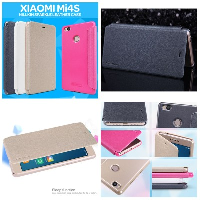 ^ Xiaomi Mi4s - Nillkin Sparkle Leather Case