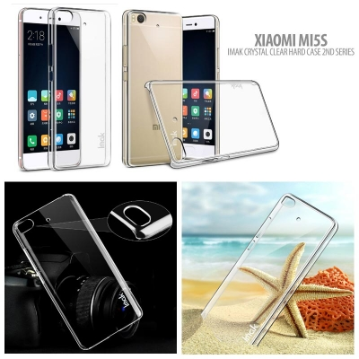 ^ Xiaomi Mi5s - Imak Crystal Clear Hard Case 2nd Series