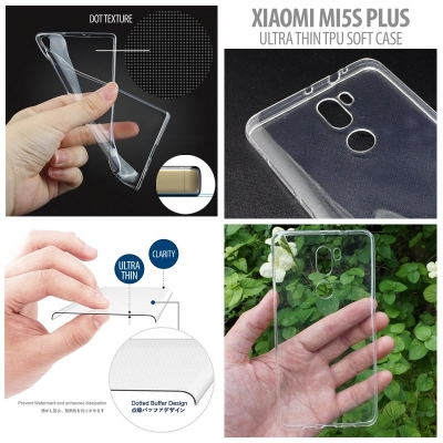 [AMI] Xiaomi Mi5s Plus - Ultra Thin TPU Soft Case