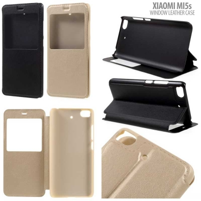* Xiaomi Mi5s - Window Leather Case