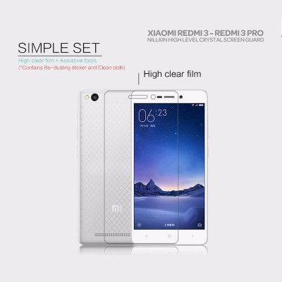 ^ Xiaomi RedMi 3 Pro / RedMi 3 / RedMi 3X  - Nillkin Clear Screen Guard