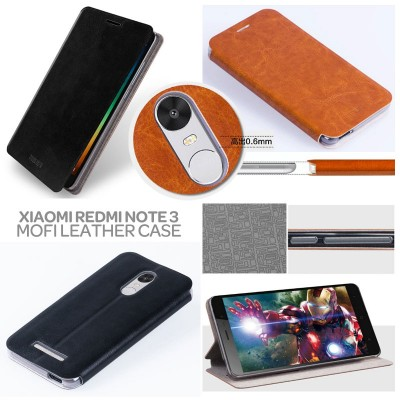 ^ Xiaomi RedMi Note 3 Pro / Redmi Note 3 - Mofi Core Series Leather Case