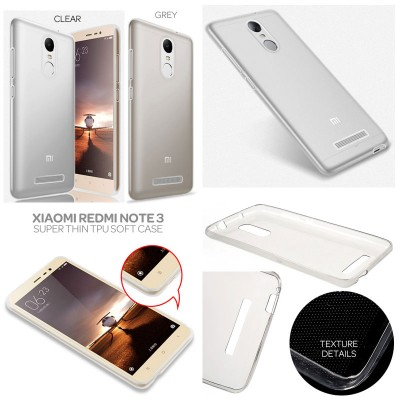 * Xiaomi RedMi Note 3 Pro / Redmi Note 3 - Super Thin Glossy TPU Soft Case