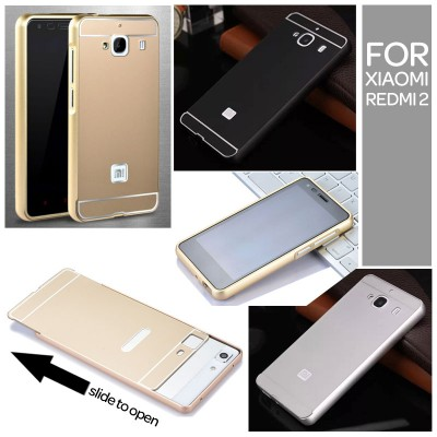 ^ Xiaomi RedMi 2 - Metal Slide Hard Case