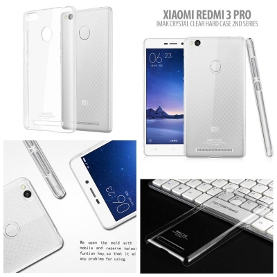 ^ Xiaomi RedMi 3 Pro - Imak Crystal Clear Hard Case 2nd Series