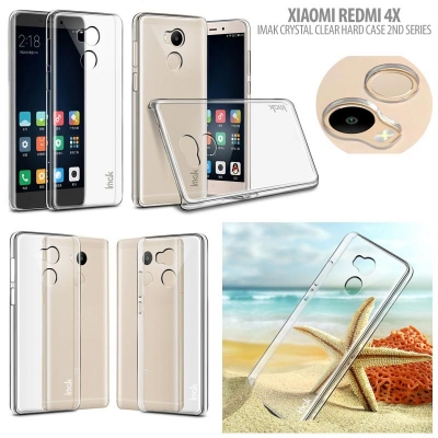 ^ Xiaomi RedMi 4 / RedMi 4X - Imak Crystal Clear Hard Case 2nd Series ""