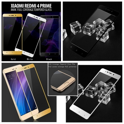 ^ Xiaomi Redmi 4 Prime - Imak Full Coverage Tempered Glass