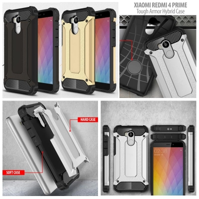 ^ Xiaomi Redmi 4 Prime - Tough Armor Hybrid Case }