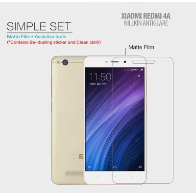 ^ Xiaomi Redmi 4A - Nillkin Antiglare Screen Guard