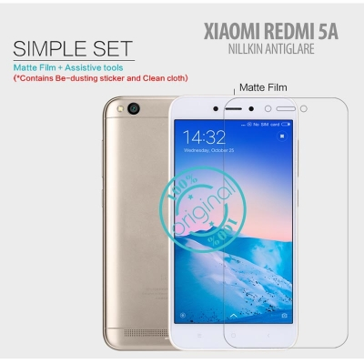 ^ Xiaomi Redmi 5A - Nillkin Antiglare Screen Guard }