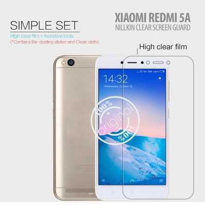 ^ Xiaomi Redmi 5A - Nillkin Clear Screen Guard }
