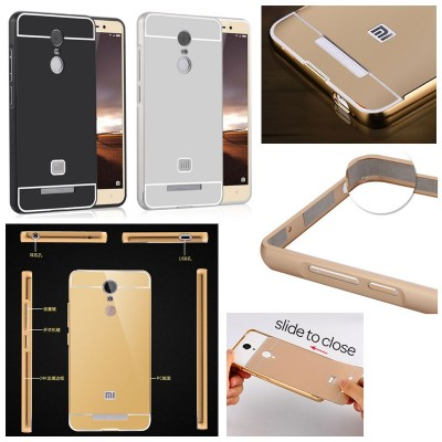 ^ Xiaomi RedMi Note 3 Pro / Redmi Note 3 - Metal Slide Hard Case