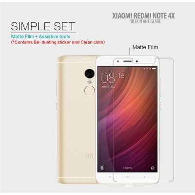 ^ Xiaomi Redmi Note 4 / Redmi Note 4X - Nillkin Antiglare Screen Guard }