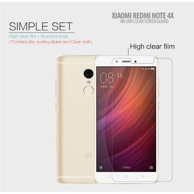 ^ Xiaomi Redmi Note 4 / Redmi Note 4X - Nillkin Clear Screen Guard }