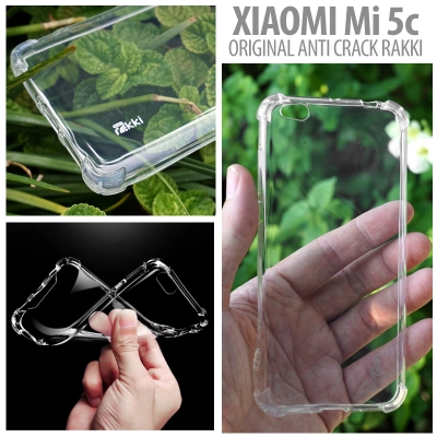 [AMI] Xiaomi Mi5c - Original Anti Crack TPU Soft Case by Rakki