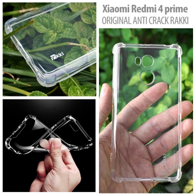 [AMI] Xiaomi Redmi 4 Prime - Original Anti Crack TPU Soft Case by Rakki
