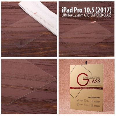 * Ipad Pro 10.5 Inch (2017) - Lumina 0.3mm Arc Tempered Glass