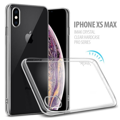 ^ iPhone XS Max - IMAK Crystal Clear Hard Case Pro Series