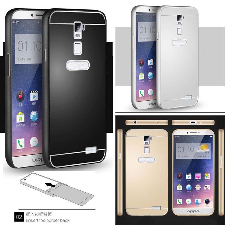 Oppo R7 Plus - Metal Slide Hard Case - Bungkusgan.com