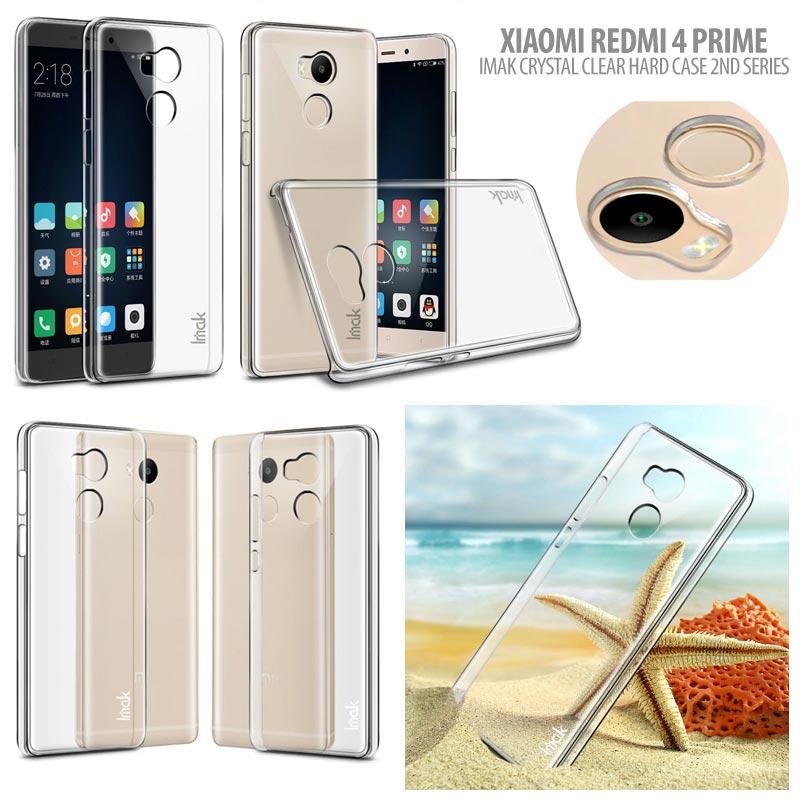 save off e7e68 abc57 Xiaomi Redmi 4 Prime Imak Crystal Clear Hard Case 2nd Series