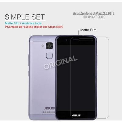 Asus Zenfone 3 Max 5.2 inch ZC520TL - Nillkin Antiglare Screen Guard }