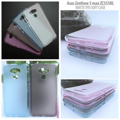 Asus Zenfone 3 Max 5.5 Inch ZC553KL - Matte TPU Soft Case